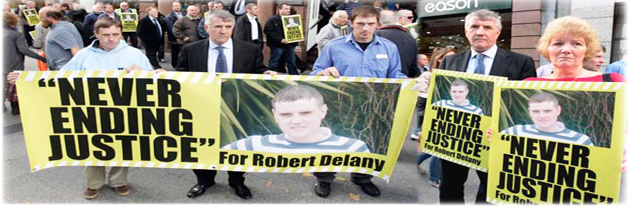 Campaign For Justice For Robert Delany